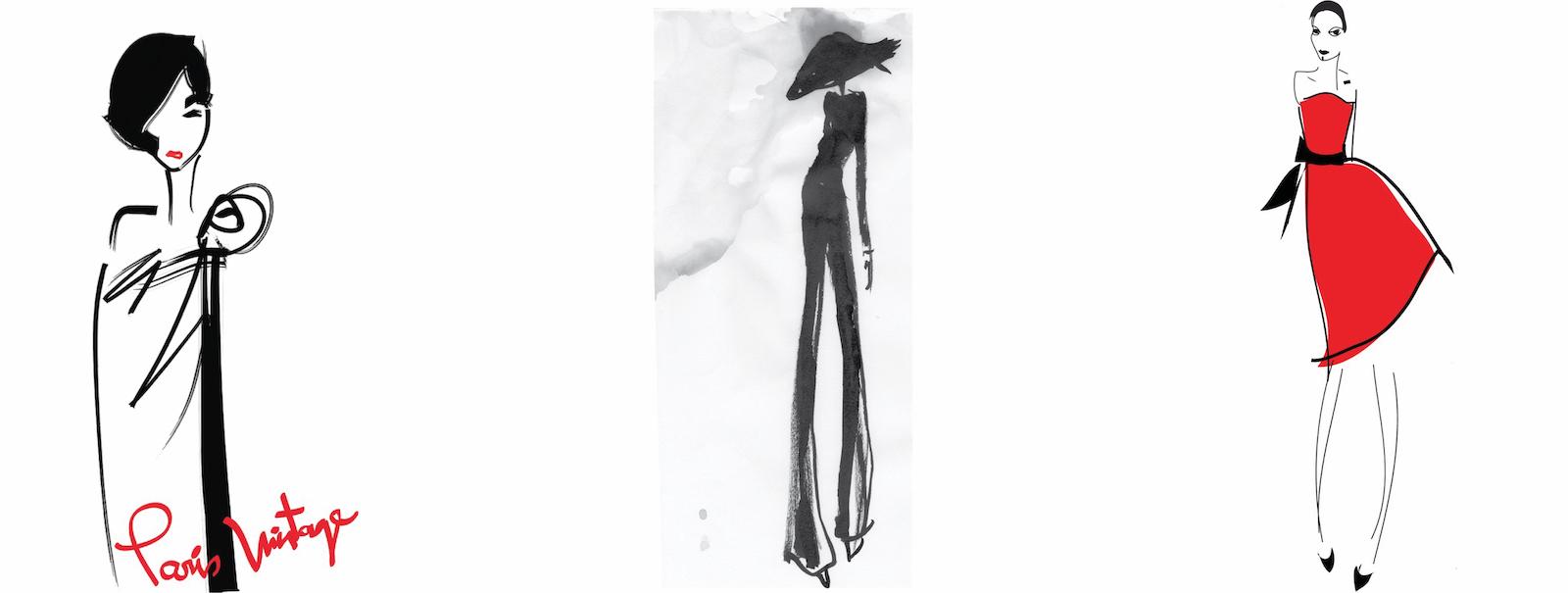 fashion illustration pages 1